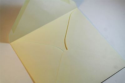 Ivory Greeting Card Envelopes Premium Quality 130 GSM pack sizes 1 sample to 50