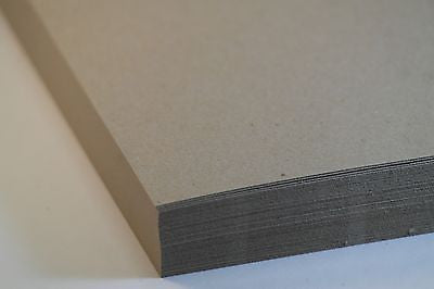 A5 Thick Brown Menu Card