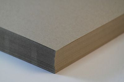 NATURAL KRAFT CARD - A4 25 SHEETS 170GSM - 100% RECYCLED