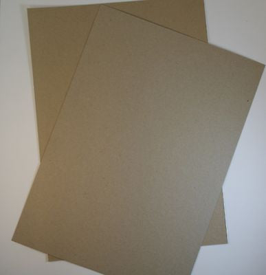 Thick Brown  Kraft Card  Recycled - A4 100 Pack 280GSM Ideal For Weddings Craft