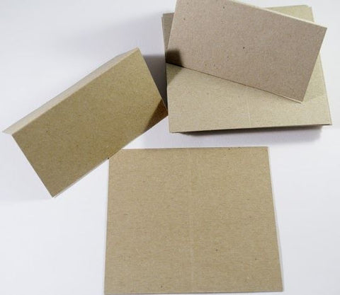 Kraft Place Cards For Weddings Dinner Party Place Settings 1 - 100 packs