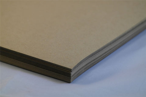 Craft Card Brown 170gsm 100% Recycled A4 A5 1 to 1000 sheet packs