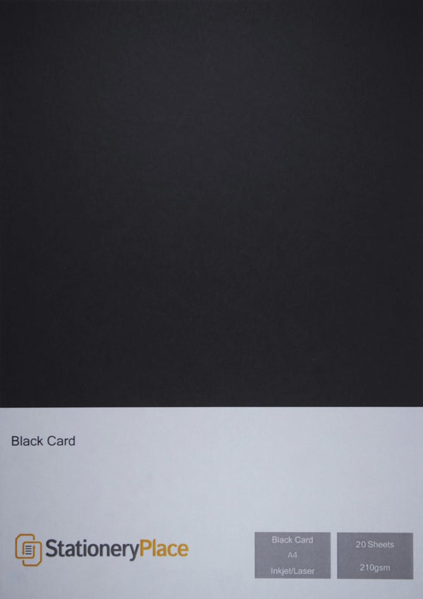 Black Craft Card 210gsm