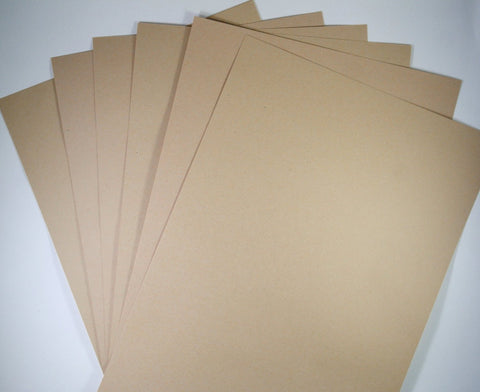 Recycled Paper Eco Kraft 100 GSM Buff A4 1, 25, 50 & 100 sheet packs