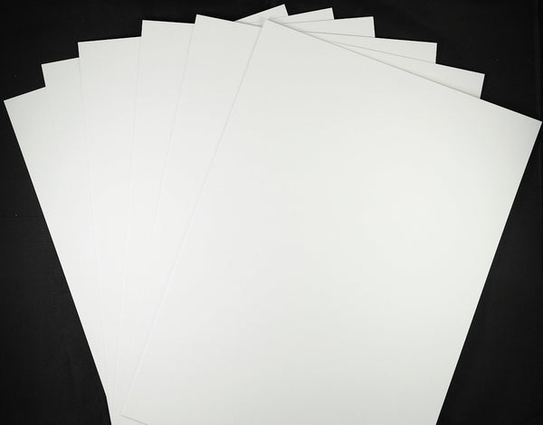 Thin White Card 160 GSM High White Ultra Smooth A4
