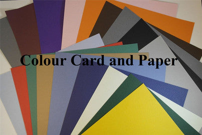 Coloured Card Coloured Paper