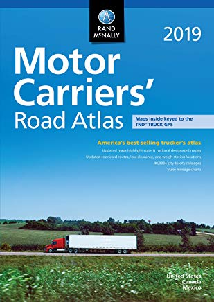2019 Motor Carriers' Road Atlas Rand McNally