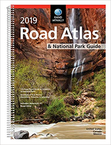 Rand McNally 2019 Road Atlas & National Park Guide; USA; Spiral Bound
