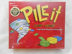 Pile it Card Game; A high-speed flipping and sorting Game
