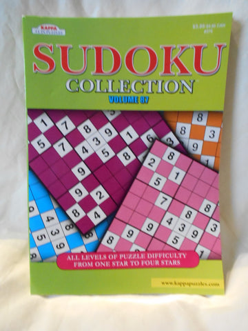 Sudoku Collection Volume 87, Kappa Puzzles