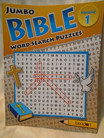 Jumbo BIBLE Word Search Puzzles Volume 1