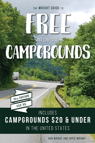 The Wright Guide to Free and Low-Cost Campgrounds  NEW! 16th Edition