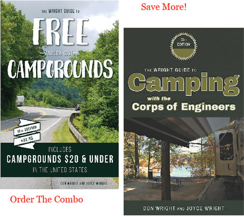 "<h2><span style=""color: #ff0000;"">Combo Offer!</span></h2>  Guide to Free and Low Cost Campgrounds & Camping with the Corps of Engineers"