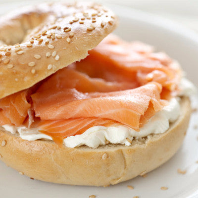 Bagel, Smoked Salmon & Cream Cheese (BOXED)