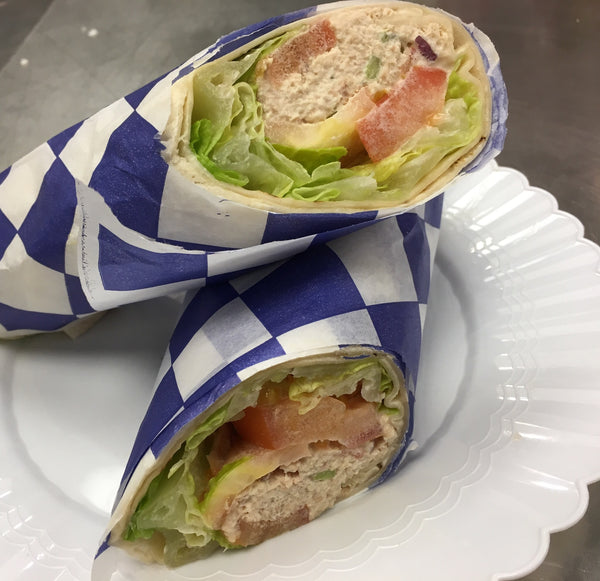 Tuna Salad 1/2-wrap