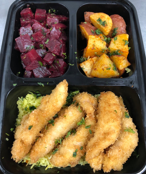 Individual Bento Box (3-compartment)