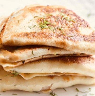 Savory & Sweet Crepes, Cheese Blintzes