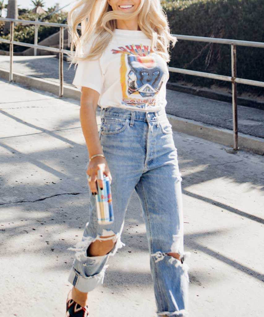 90's Mid Rise Loose Fit, Fall Out