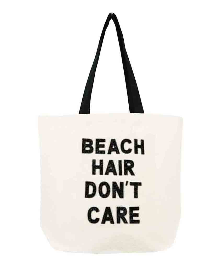Beach Hair Crystal Tote