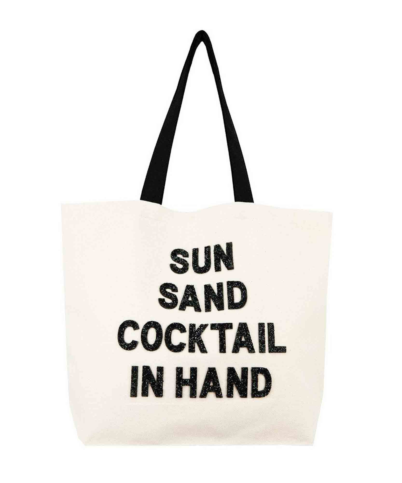 Sun Sand Cocktail Crystal Tote