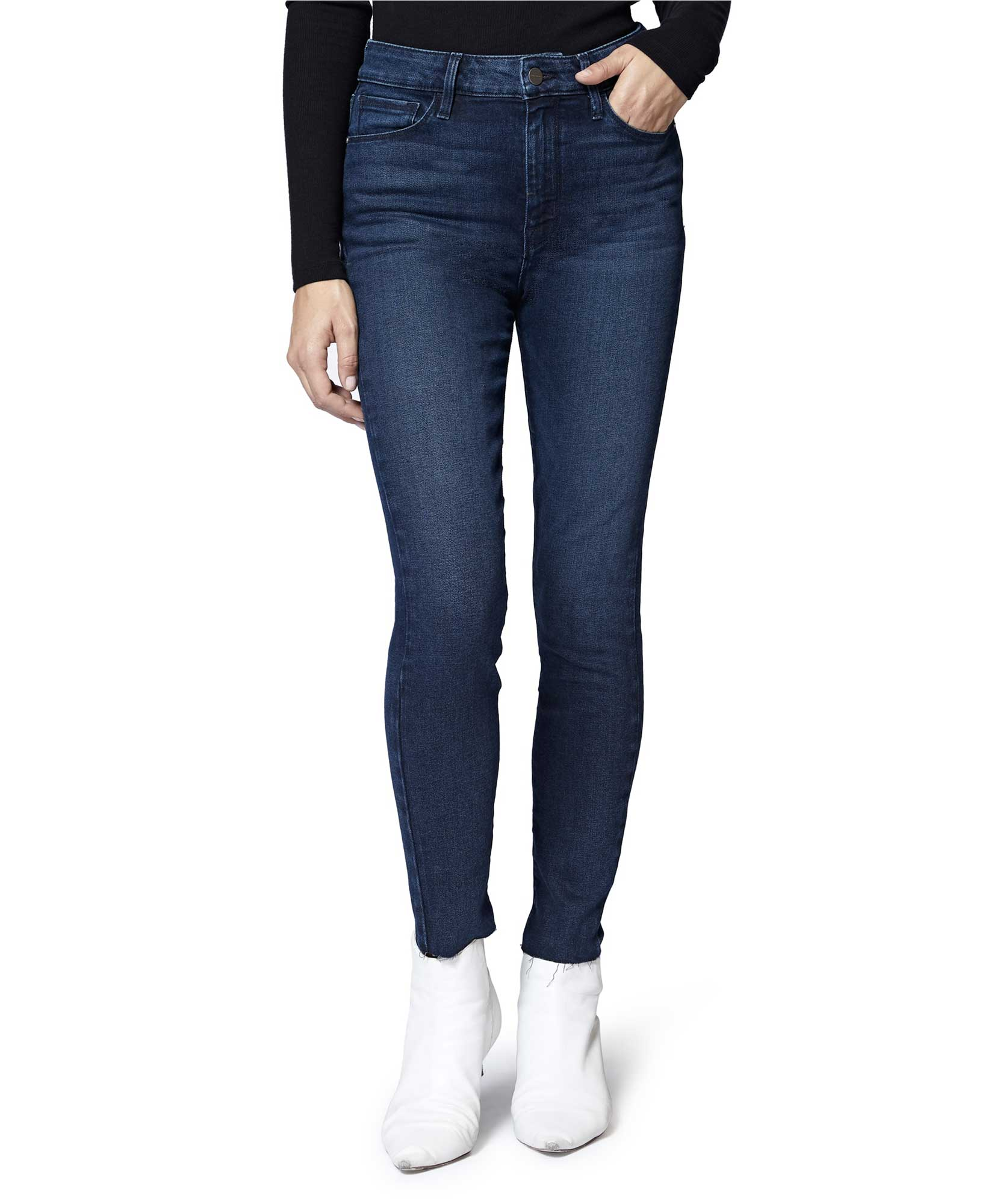 Social High Rise Ankle Skinny Jean