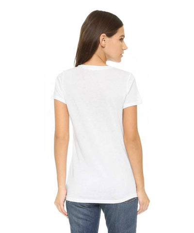 Lightweight V-Neck  Basic Tee, Splendid,- Pink Arrows Boutique