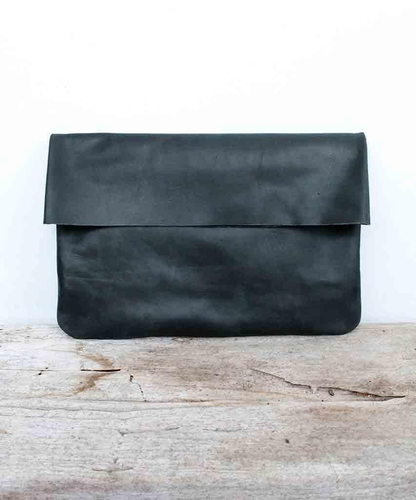 Folded Vegan Clutch  Handbags, Bauxo,- Pink Arrows Boutique