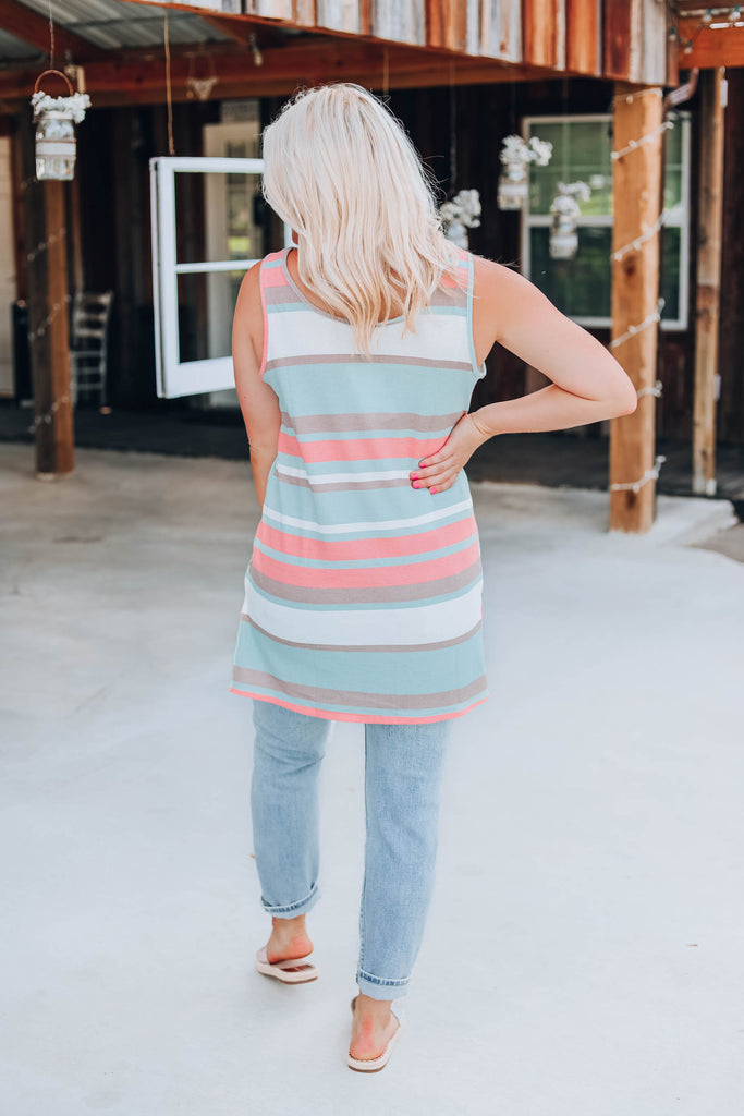 Simplicity In Stripes Tank