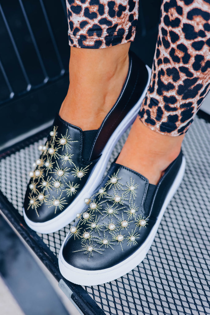 Emma Embellished Sneakers