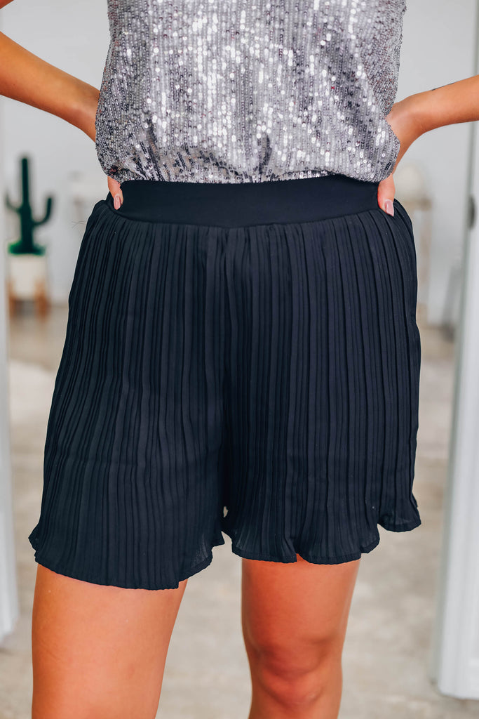 Show You Off Pleated Shorts