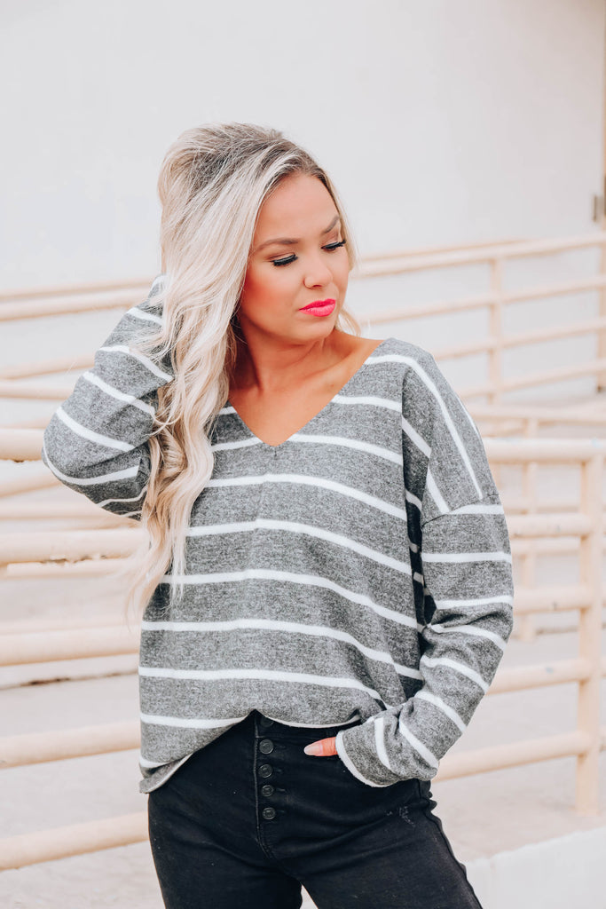 Sweater Aesthetic Knit Top