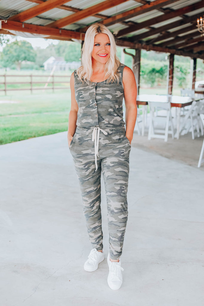 Hunter Camouflage Jumpsuit