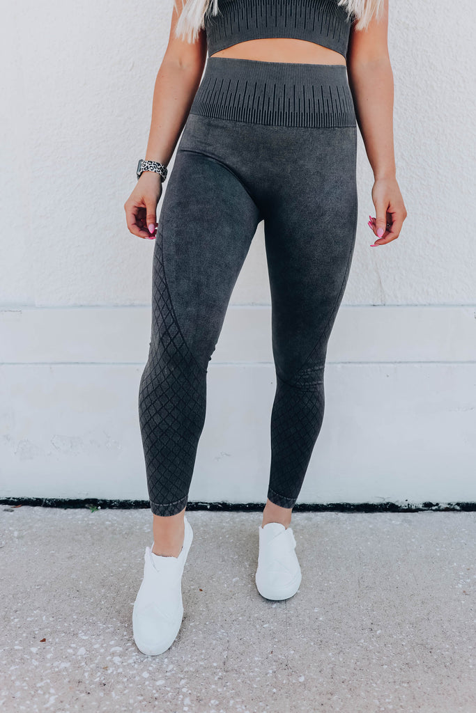 Pushin' The Limit Leggings S-3X - Black