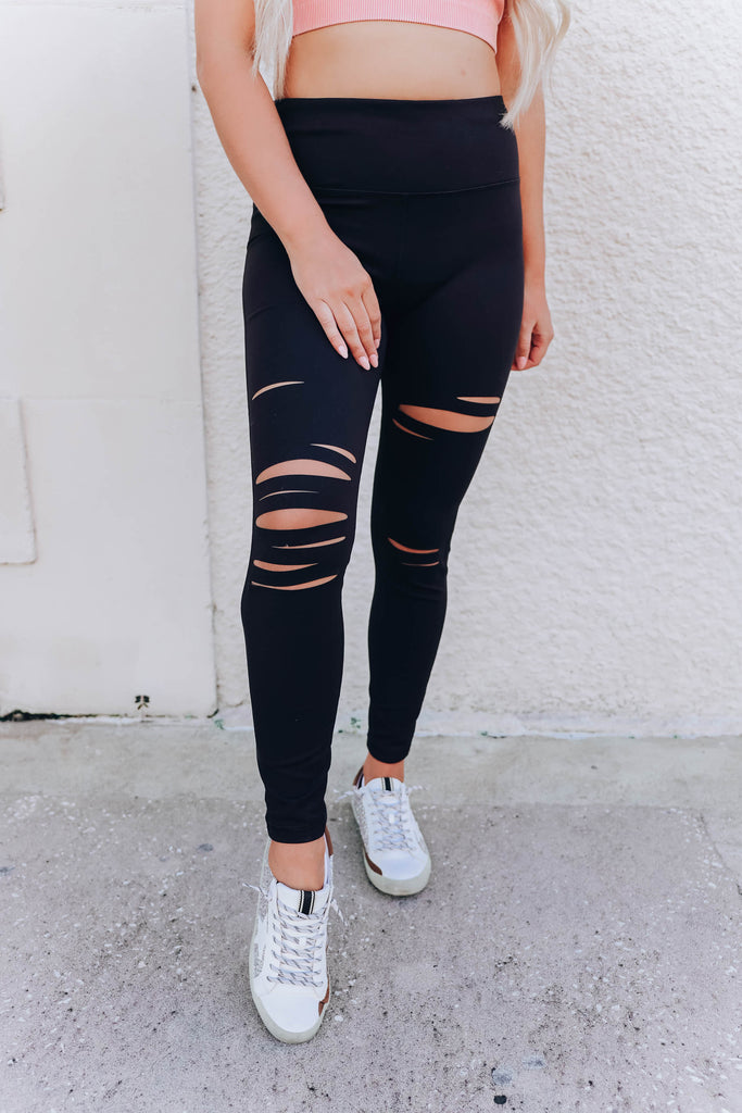 Flexin' It Right Laser Leggings