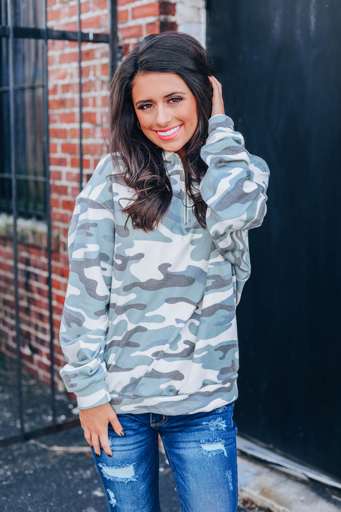 Take You With Me Hoodie - Camo