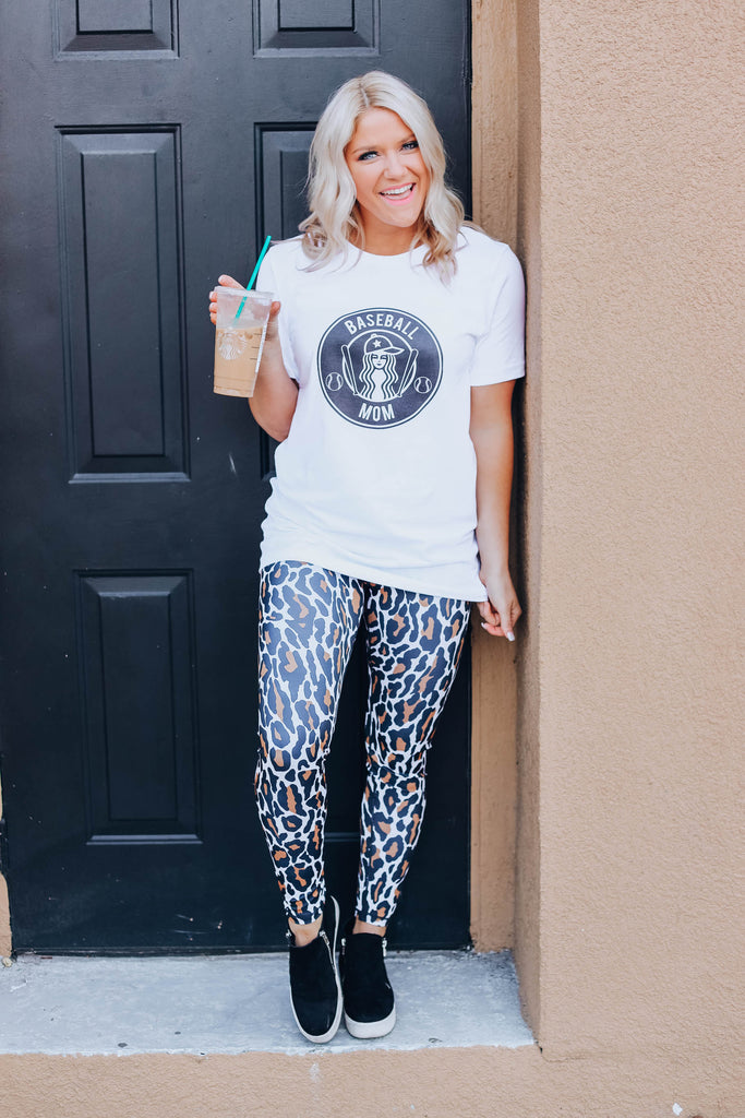 Worth The Chase Leggings - Black
