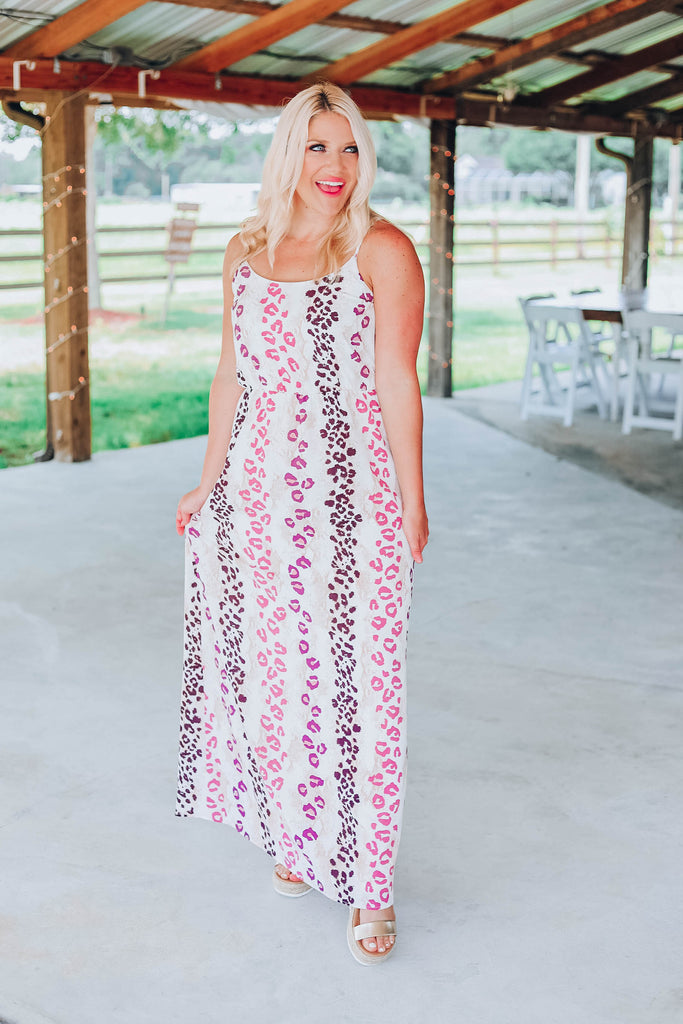 Being Unique Maxi Dress