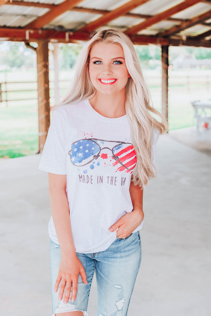 Made In The USA Graphic Tee