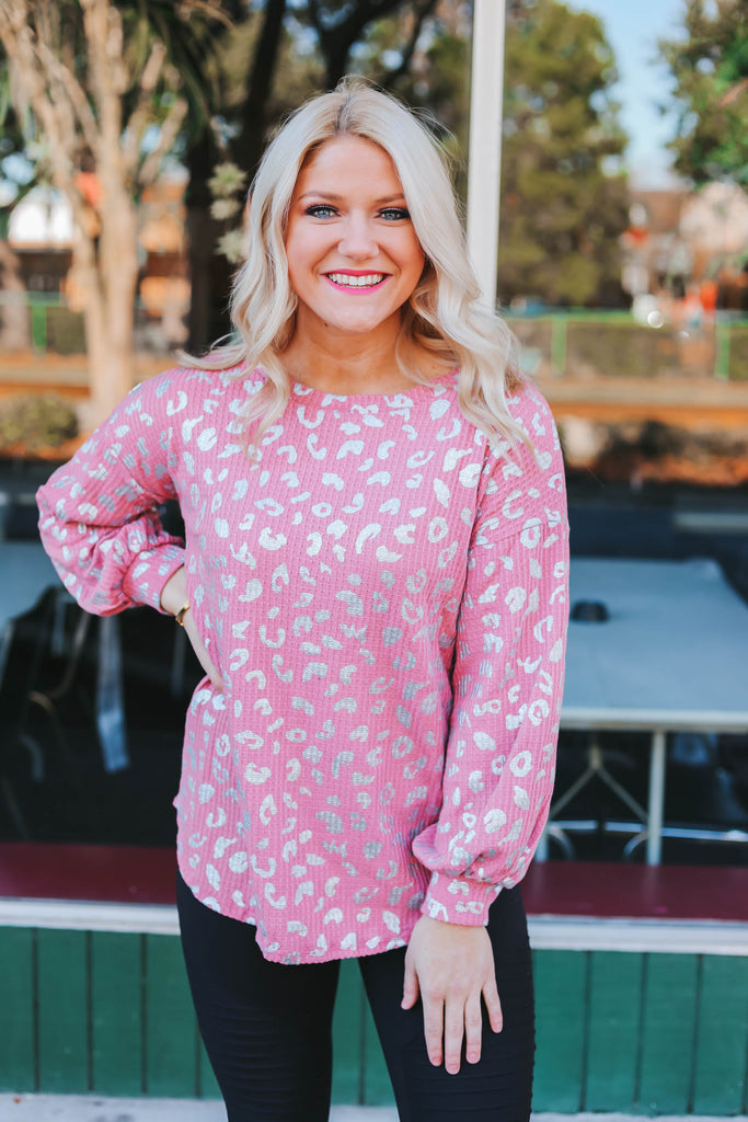 Embrace My Heart Top - Blush