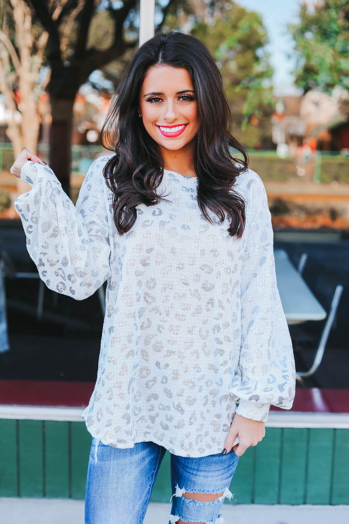 Embrace My Heart Top - Ivory