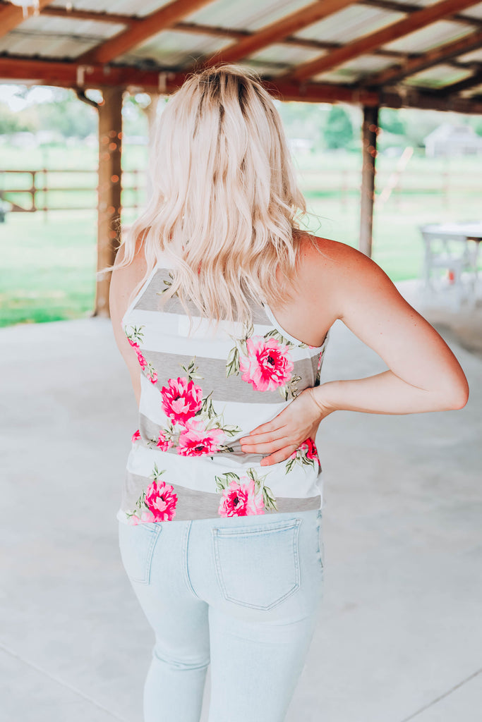 Fresh Feeling Floral Top