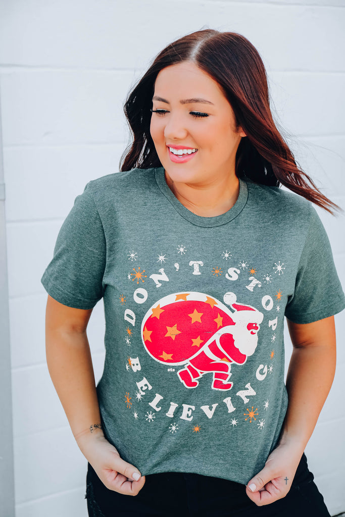 Don't Stop Believing Graphic Tee