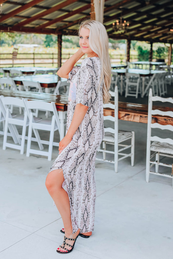 Sunshine In My Pocket Maxi Dress