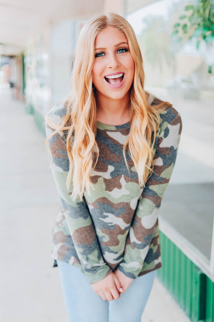 Keep It Casual Tunic - Camo