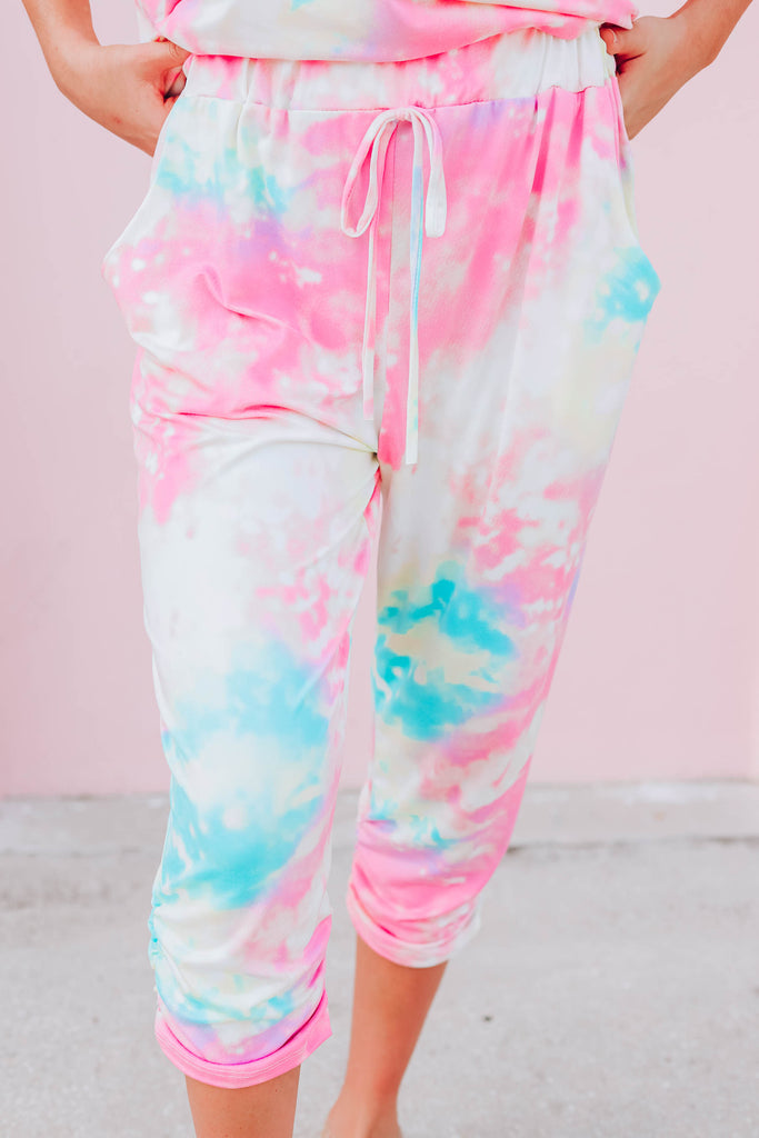 Water Color Jogger Set - Yellow
