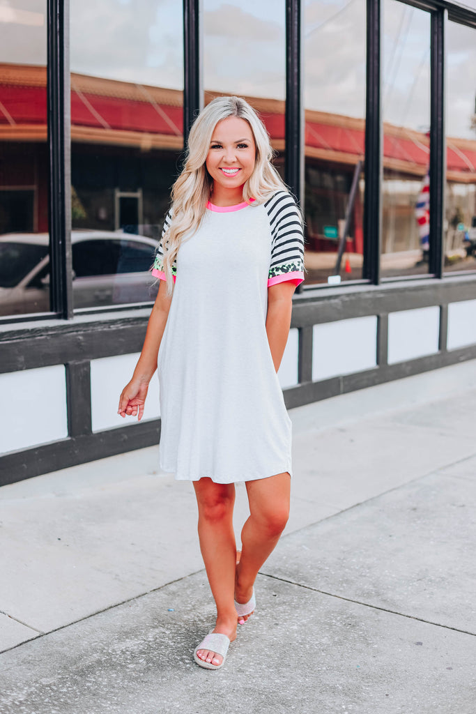 Fun and Fierce T-Shirt Dress