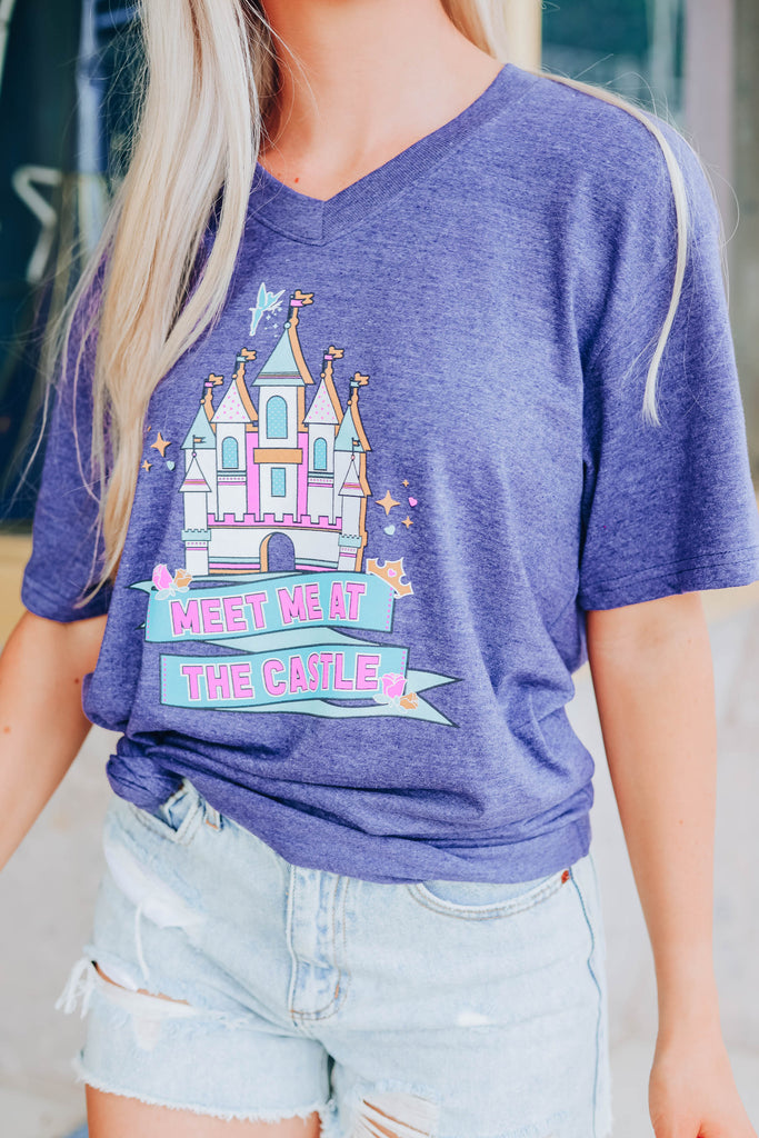 Meet Me At The  Castle Graphic Tee