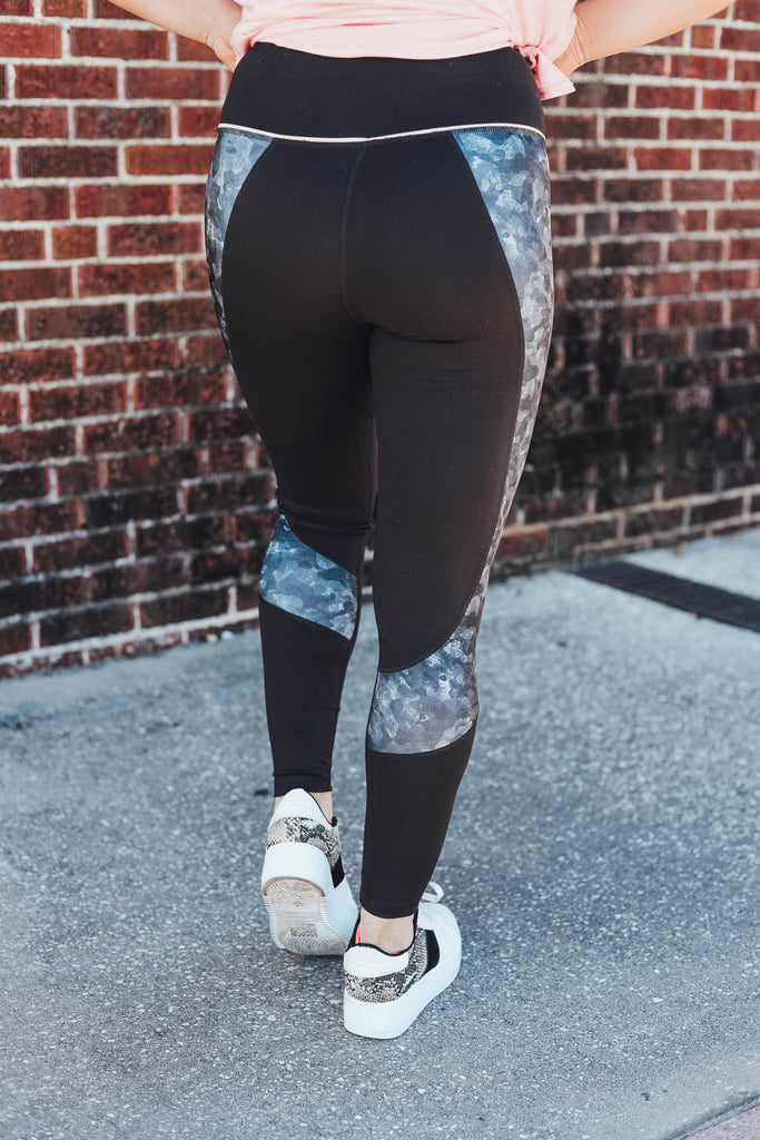 Kelli Active Leggings - Black
