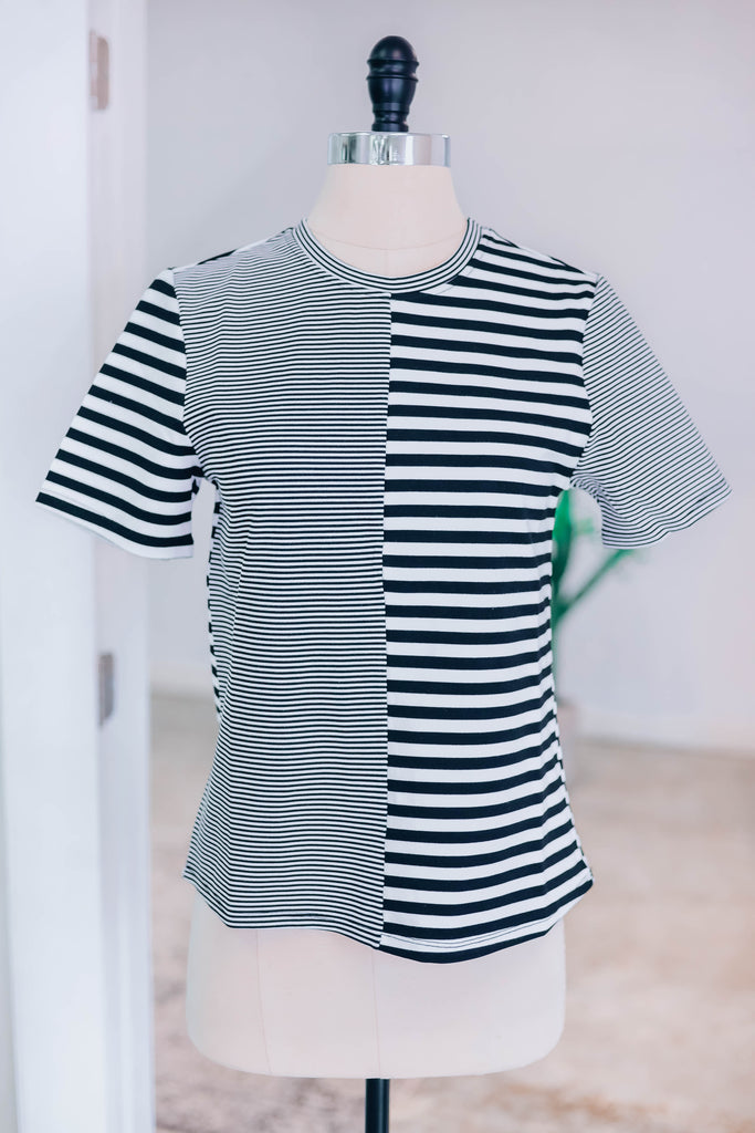 Want You Back Striped Top