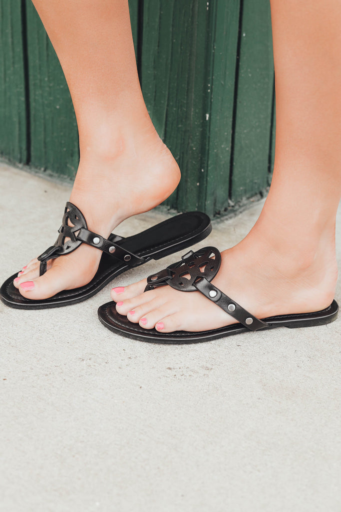 Lilly Sandals  - Black